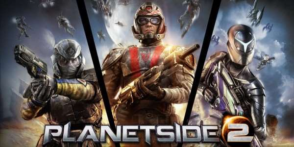PlanetSide 2 PlayStation4